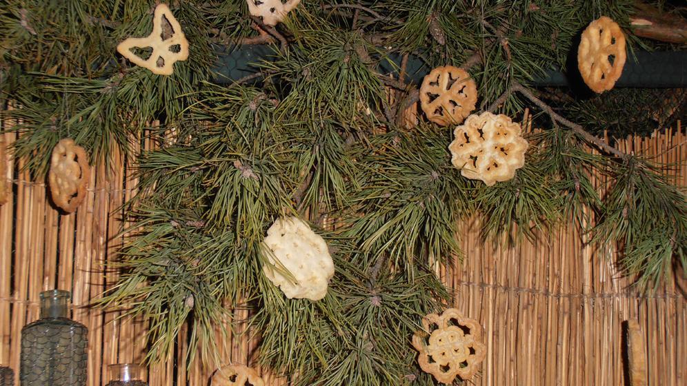 Vánoční vafle na výstavě Staropražské Vánoce