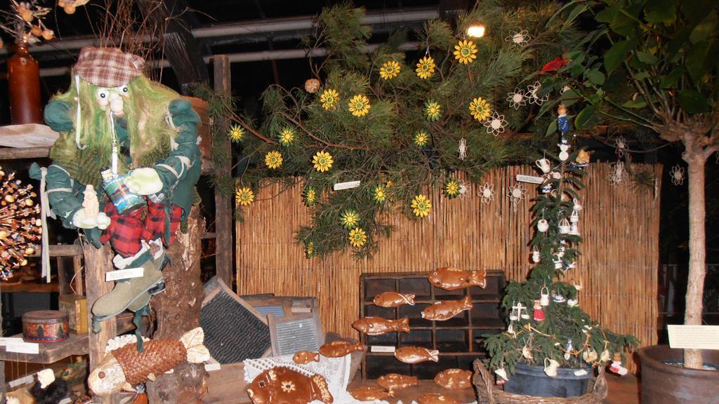 Vodník na výstavě Staropražské Vánoce