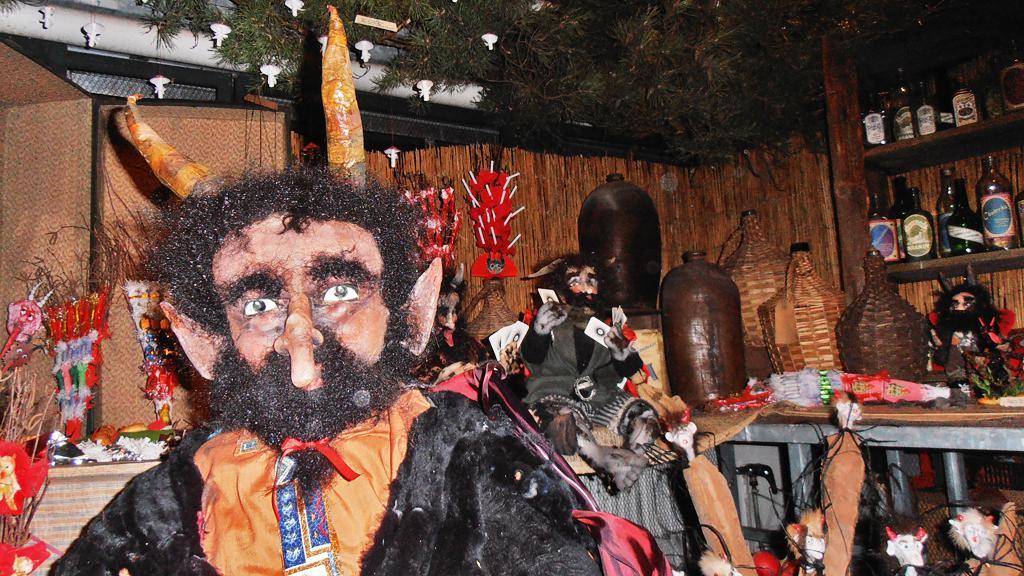 Čerti na výstavě Staropražské Vánoce