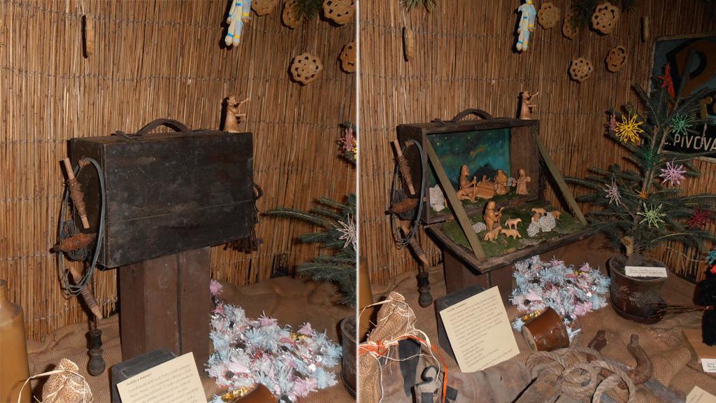 Drátenický betlém na výstavě Staropražské Vánoce