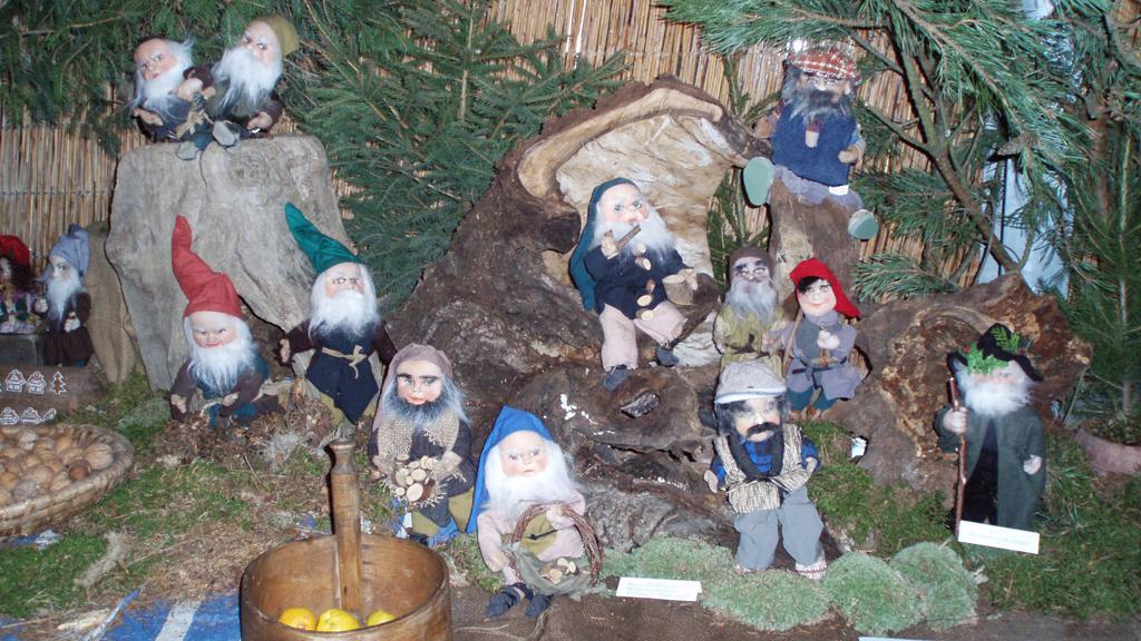 Skřítkové na výstavě Tradice Českých Vánoc