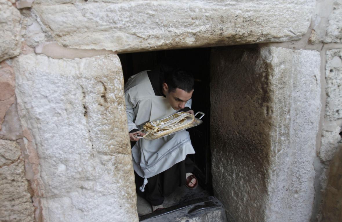 Oslavy Vánoc v Betlémě