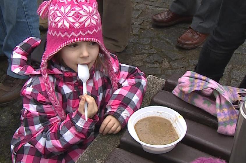 Boskovická polévka pro chudé i bohaté