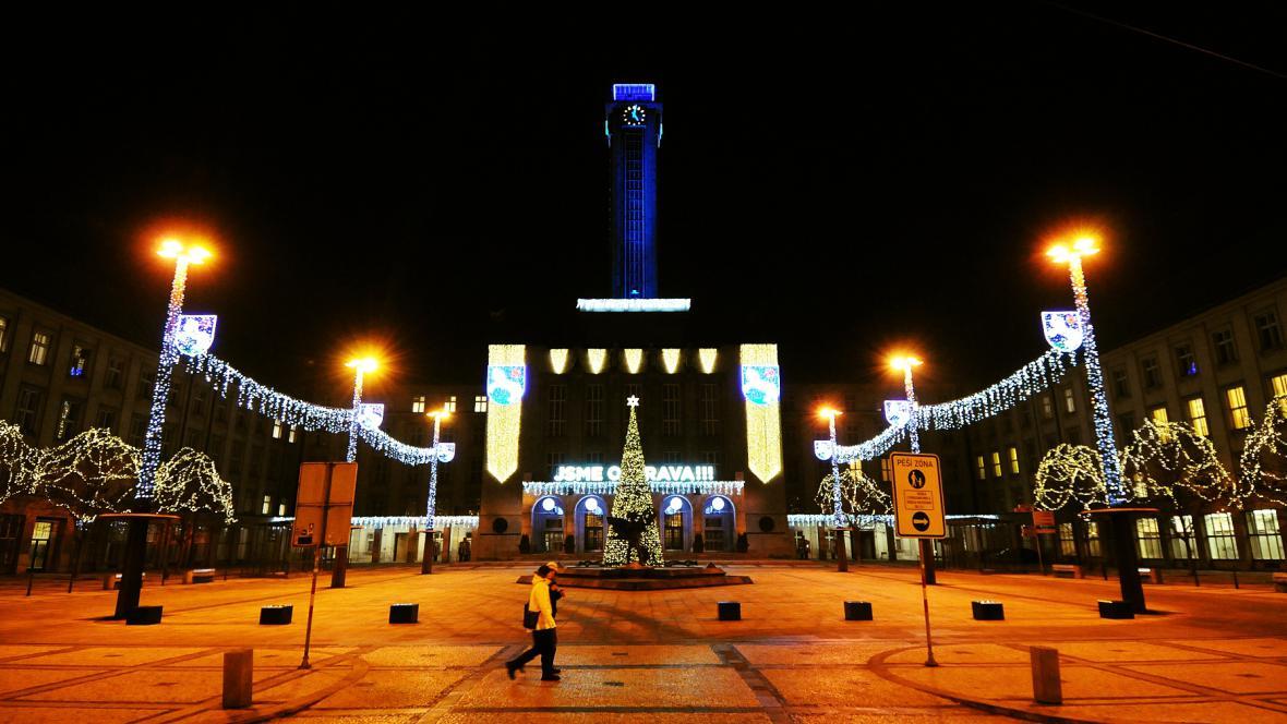 Ostravská Kráska, čili radniční věž