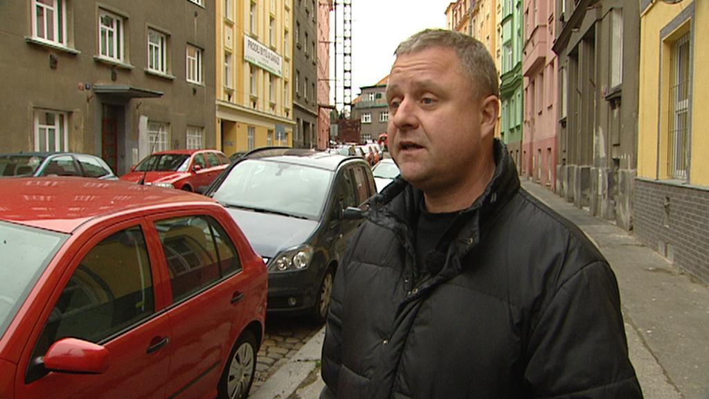 Poškozený Tomáš Pacák