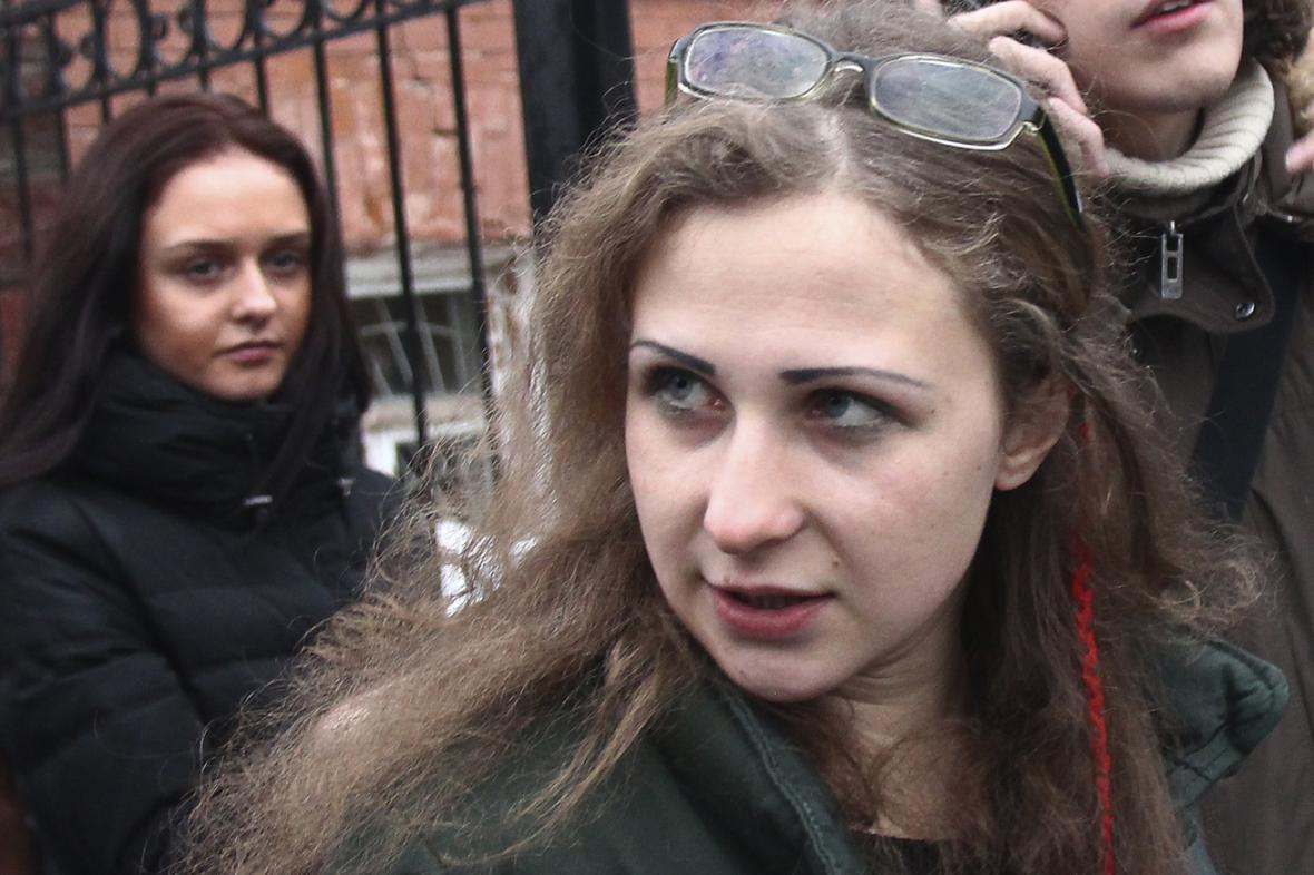 Marija Aljochinová po propuštění z vězení