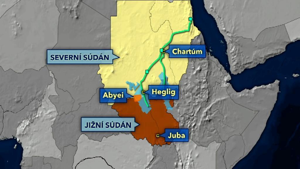 Těžba ropy v Súdánu