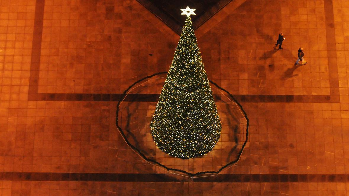 Vánoce v Ostravě
