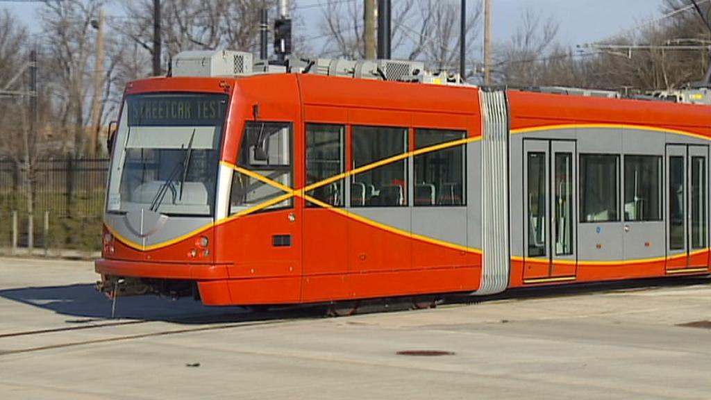 Ostravská tramvaj v ulicích Washingtonu