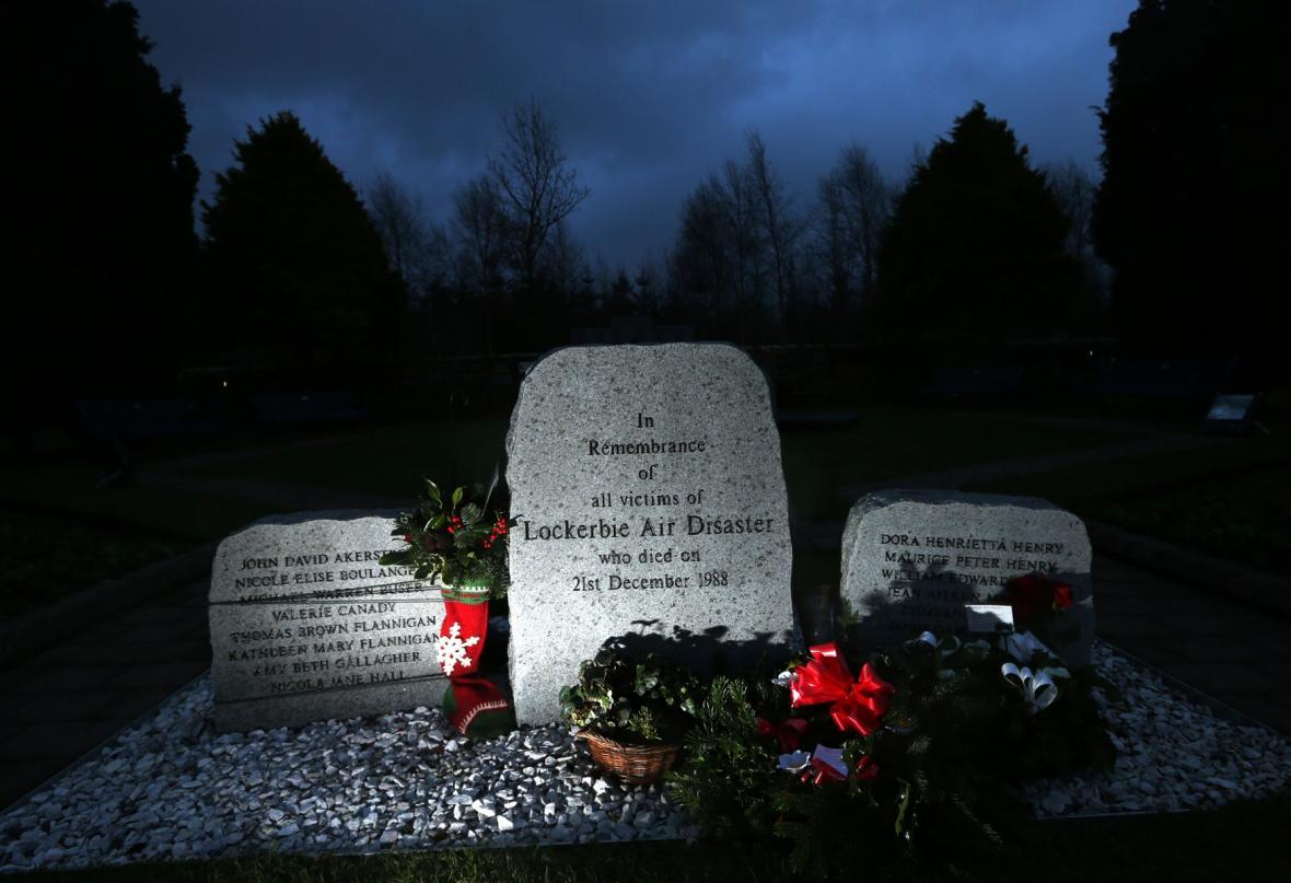 Památník tragédie u Lockerbie