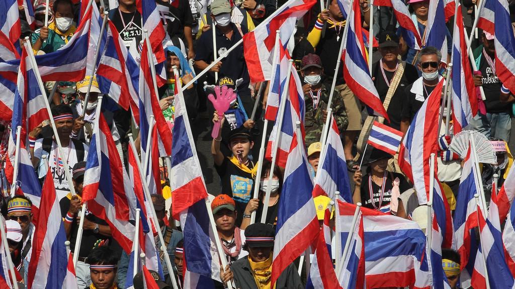 Nepokoje v Thajsku