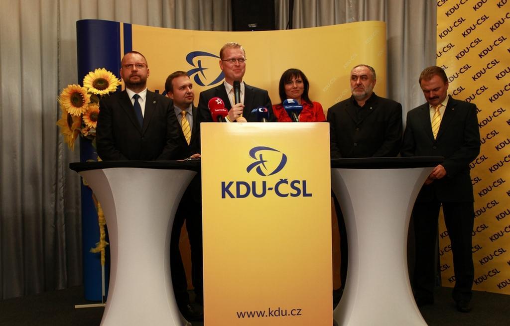 Představitelé KDU-ČSL