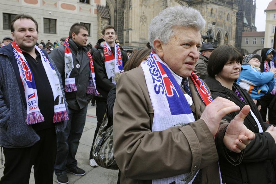 Inaugurace Miloše Zemana