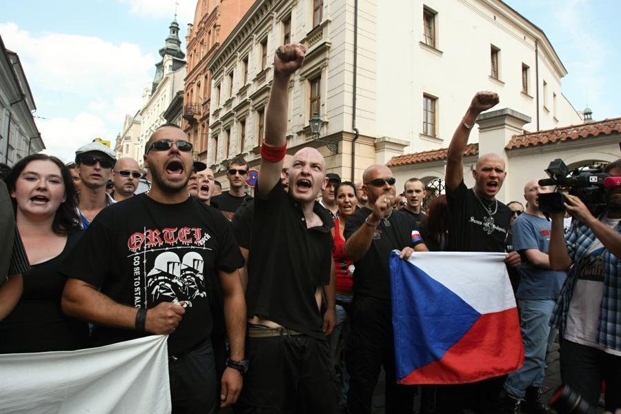 Protiromská demonstrace