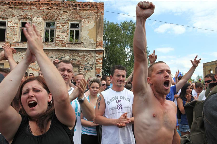 Protest v Duchcově