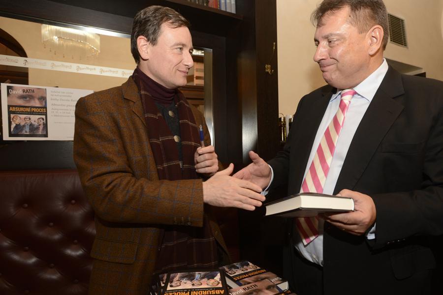 David Rath a Jiří Paroubek