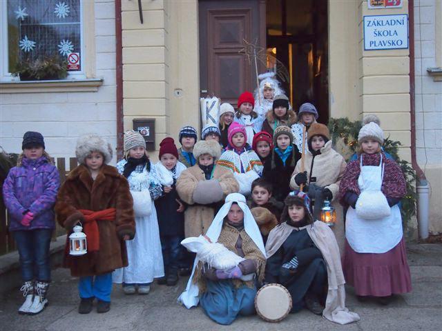 Zvonkový průvod v Plavsku