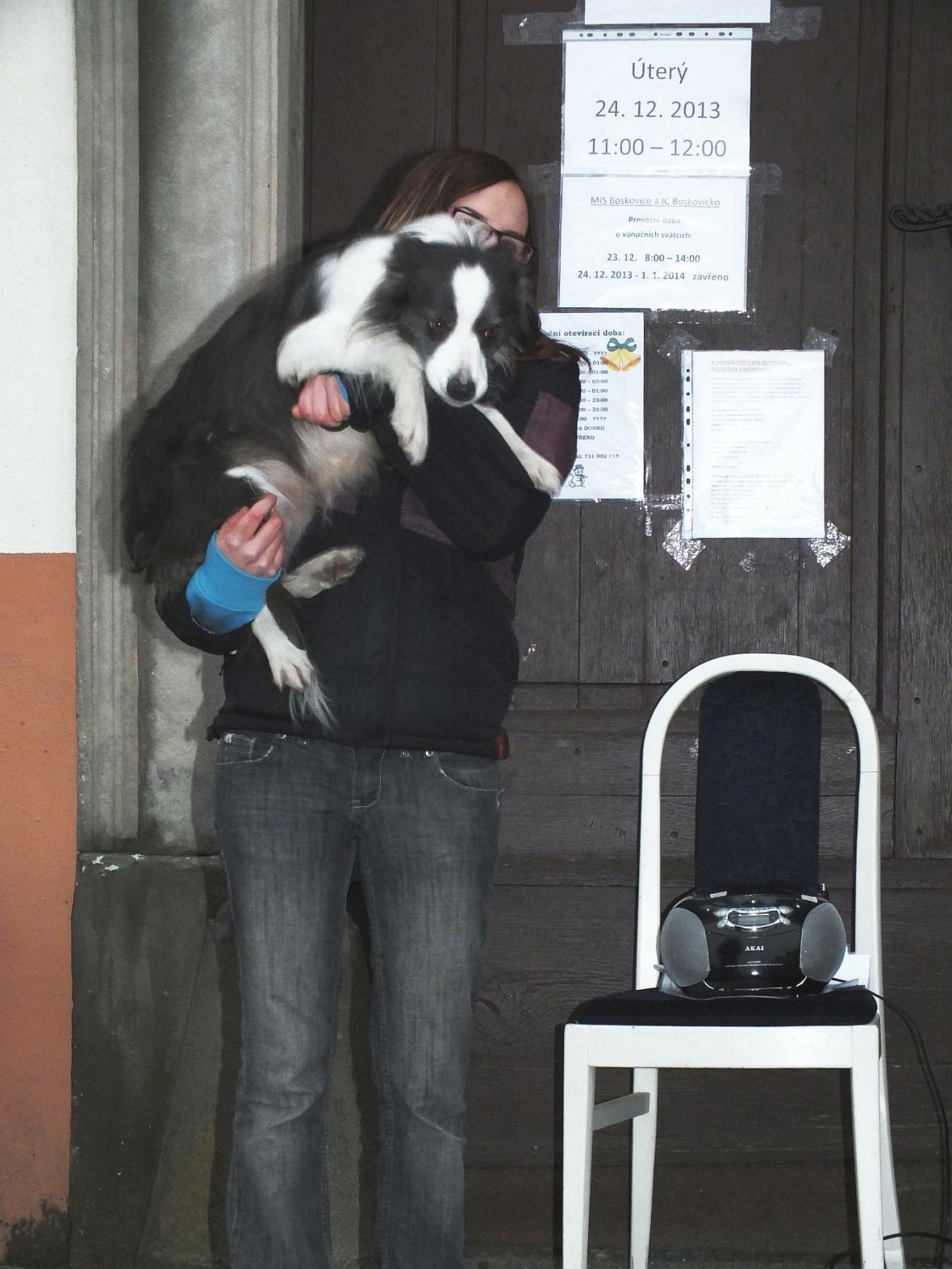 Sbírka pro zvířecí záchytnou stanici v Boskovicích
