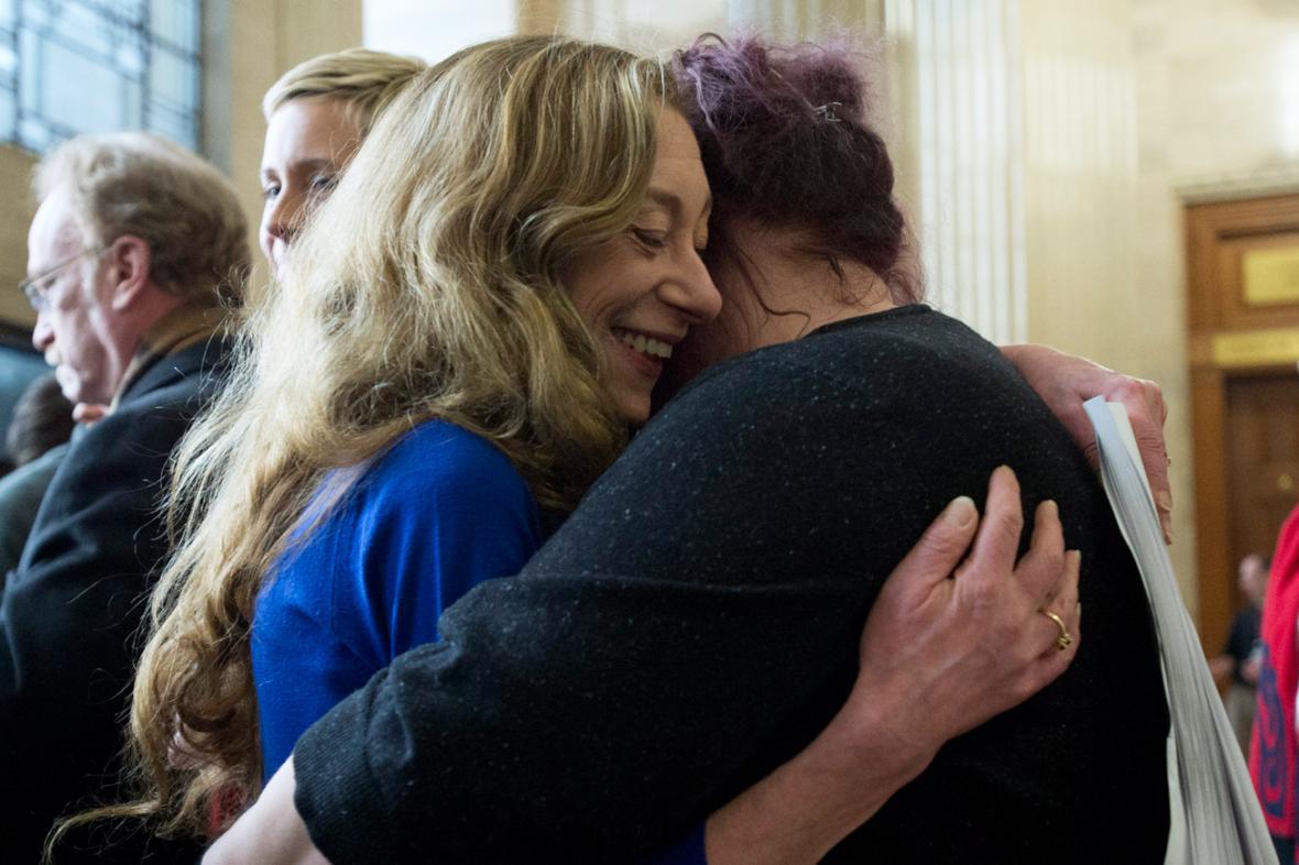 Valerie Scottová a Amy Lebovitchová