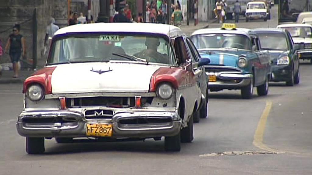 Auta na Kubě