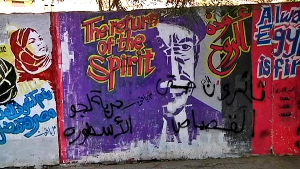 Pouliční umění v Egyptě