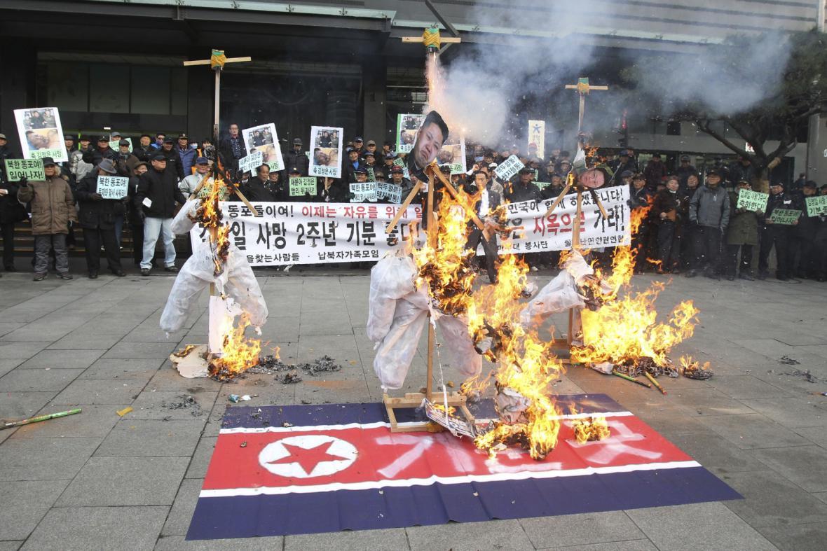 Protesty proti režimu v KLDR