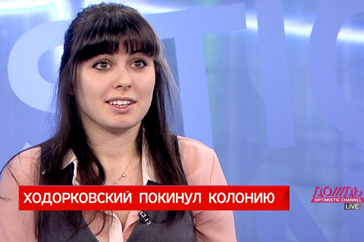 Dcera Chodorkovského Anastasia Chodorkovská