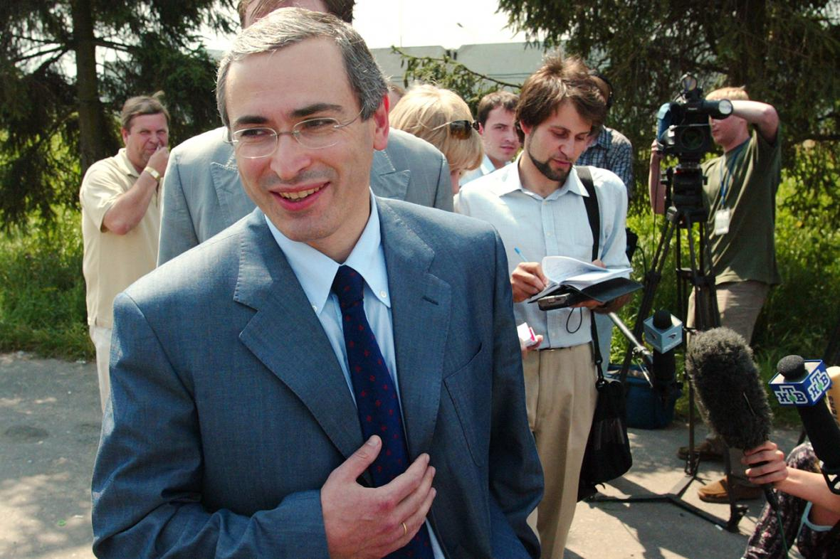Michail Chodorkovskij v červenci 2003