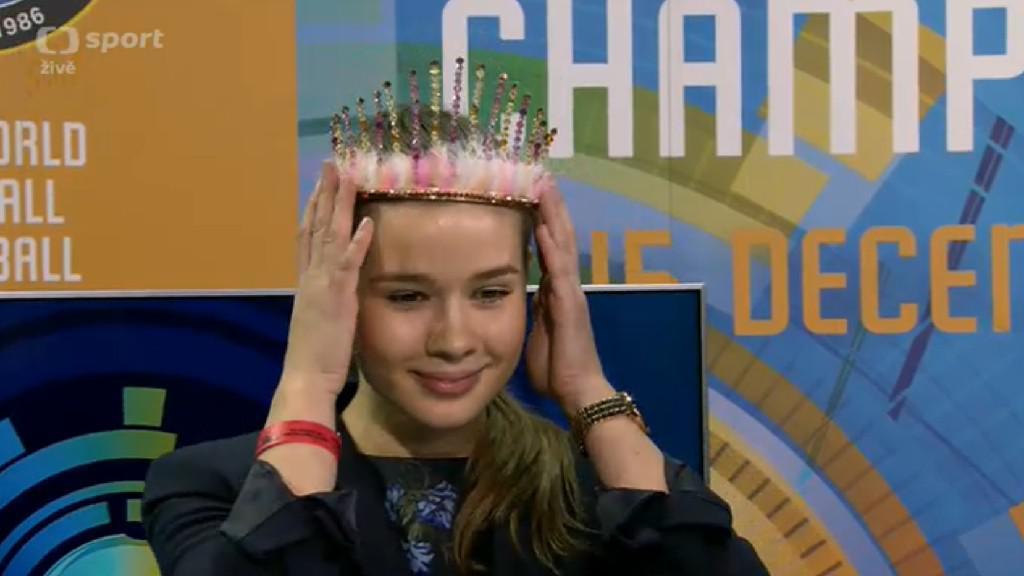 Miss český florbal Nikola Dědková