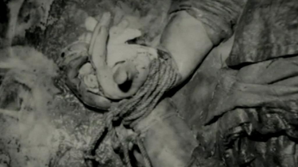 Tělo Ludmily Cervanové