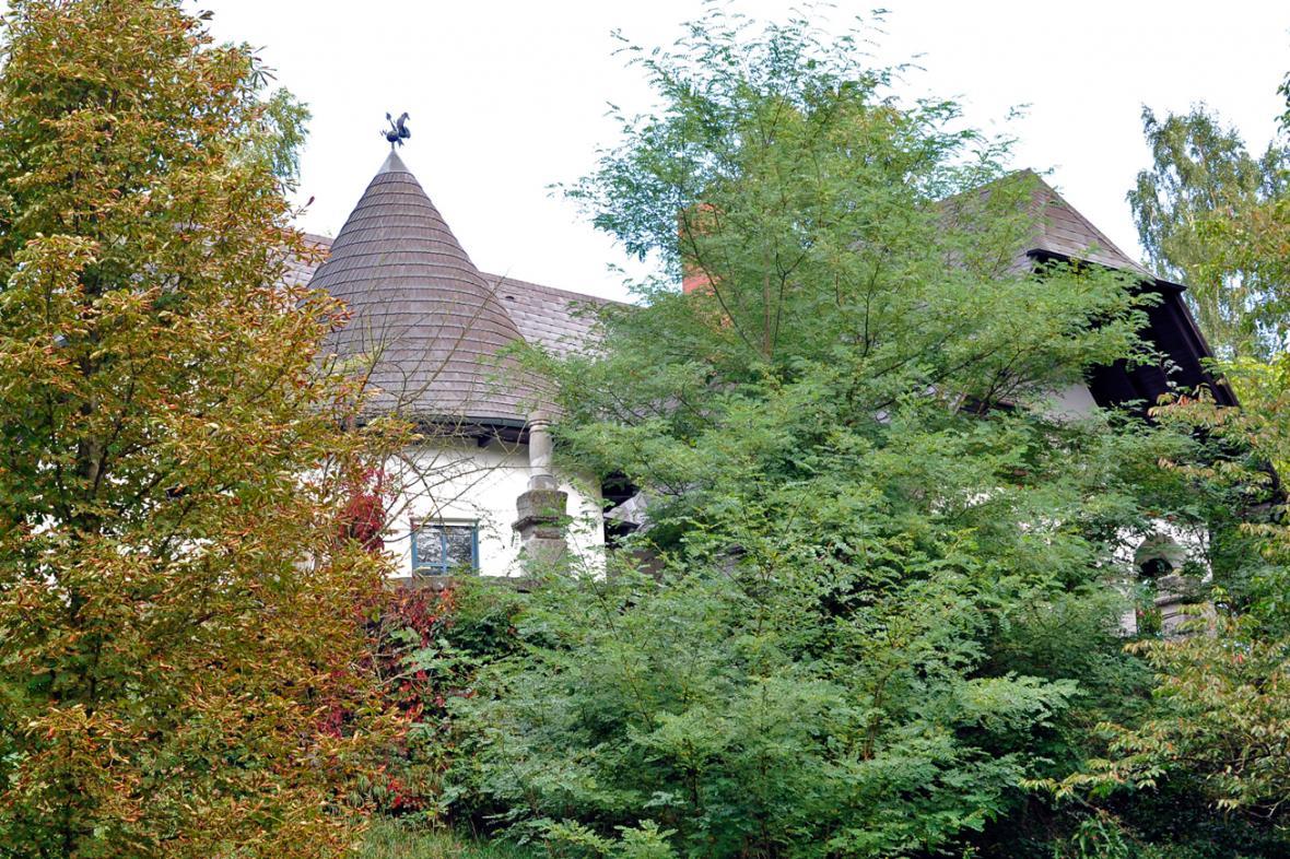 Dům rakouského pytláka Aloise Hubera