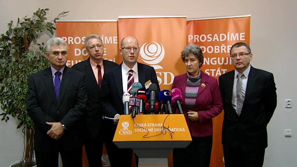 Vyjednávací tým ČSSD