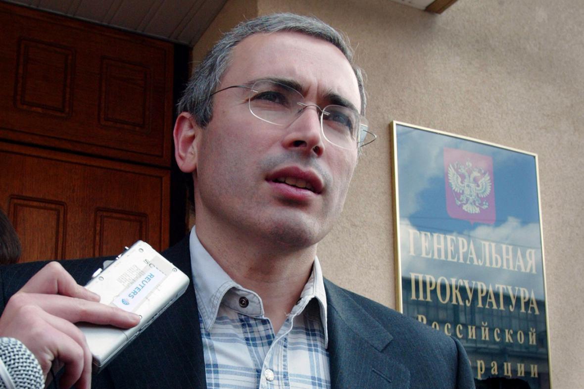 Michail Chodorkovskijv červenci 2003