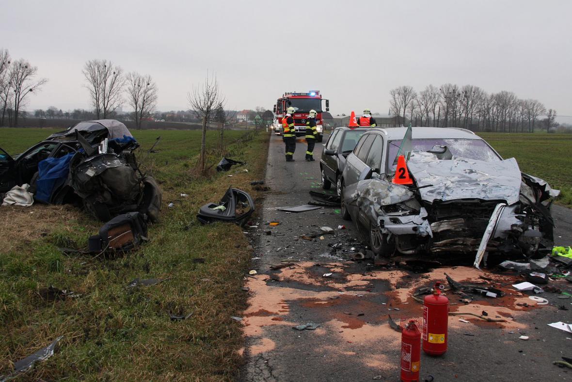 Dopravní nehoda u Rymic