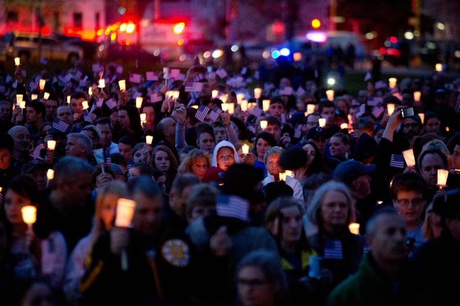 Tryzna za oběti bostonského atentátu