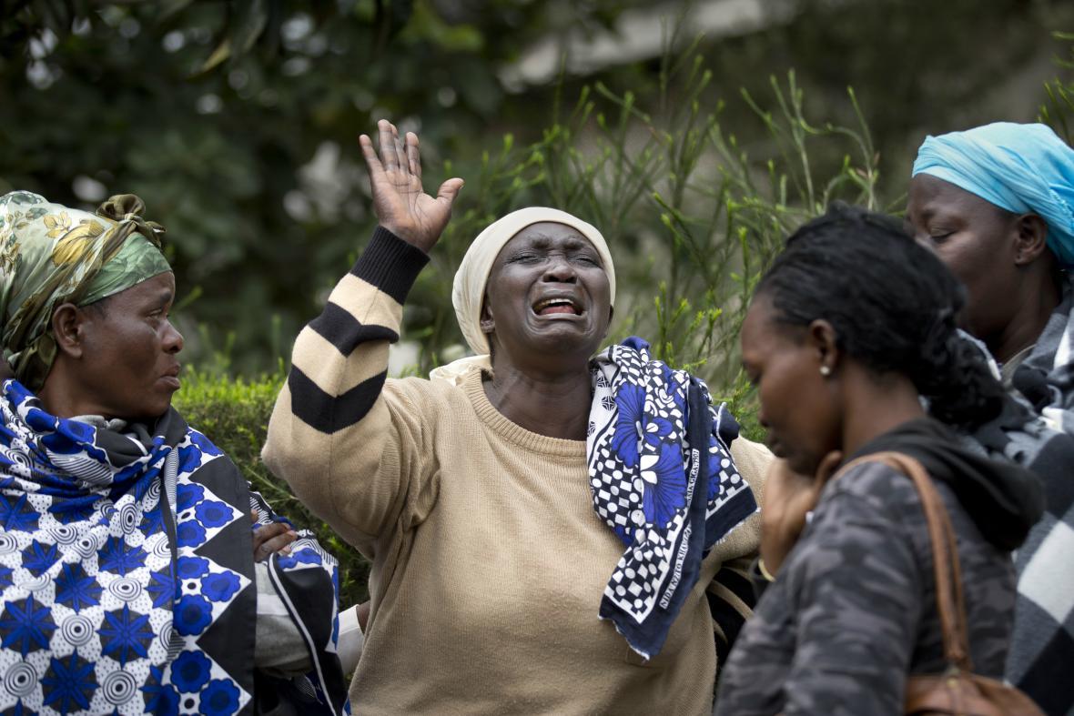Keňa drží smutek za oběti útoku v Nairobi