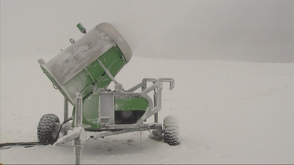Vysočina Arenu zasněžují děla