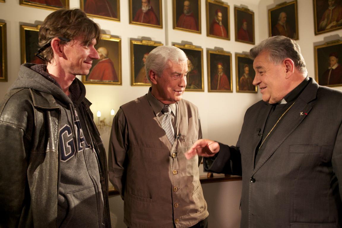 Jiří Strach s Jiřím Grygarem a Dominikem Dukou