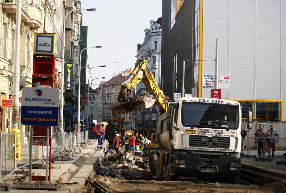 Oprava tramvajové trati