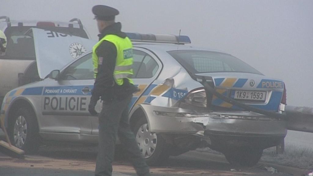 Řetězová nehoda v Karlových Varech