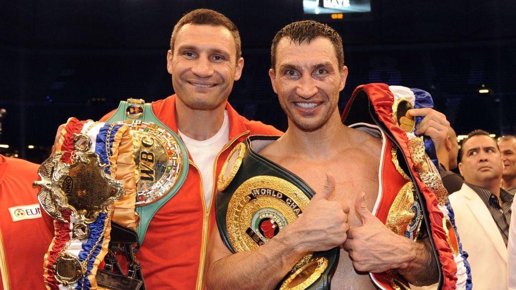Vitalij a Vladimir Kličko