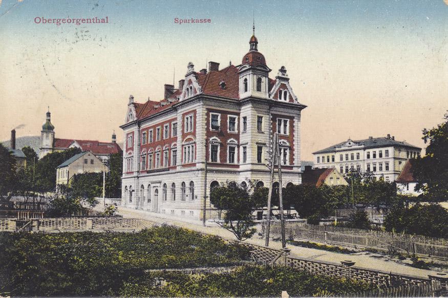 Pošta v Horním Jiřetíně