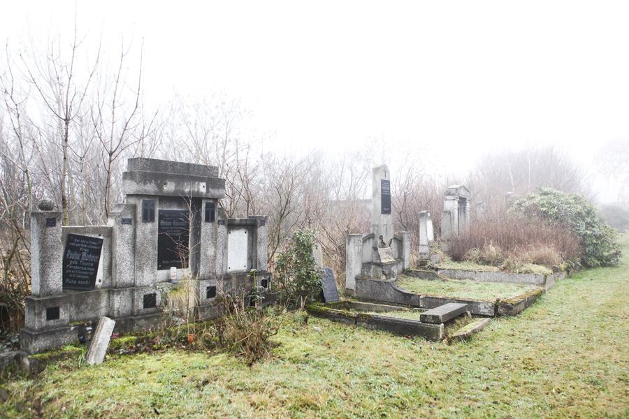 Německý hřbitov v Horním Jiřetíně