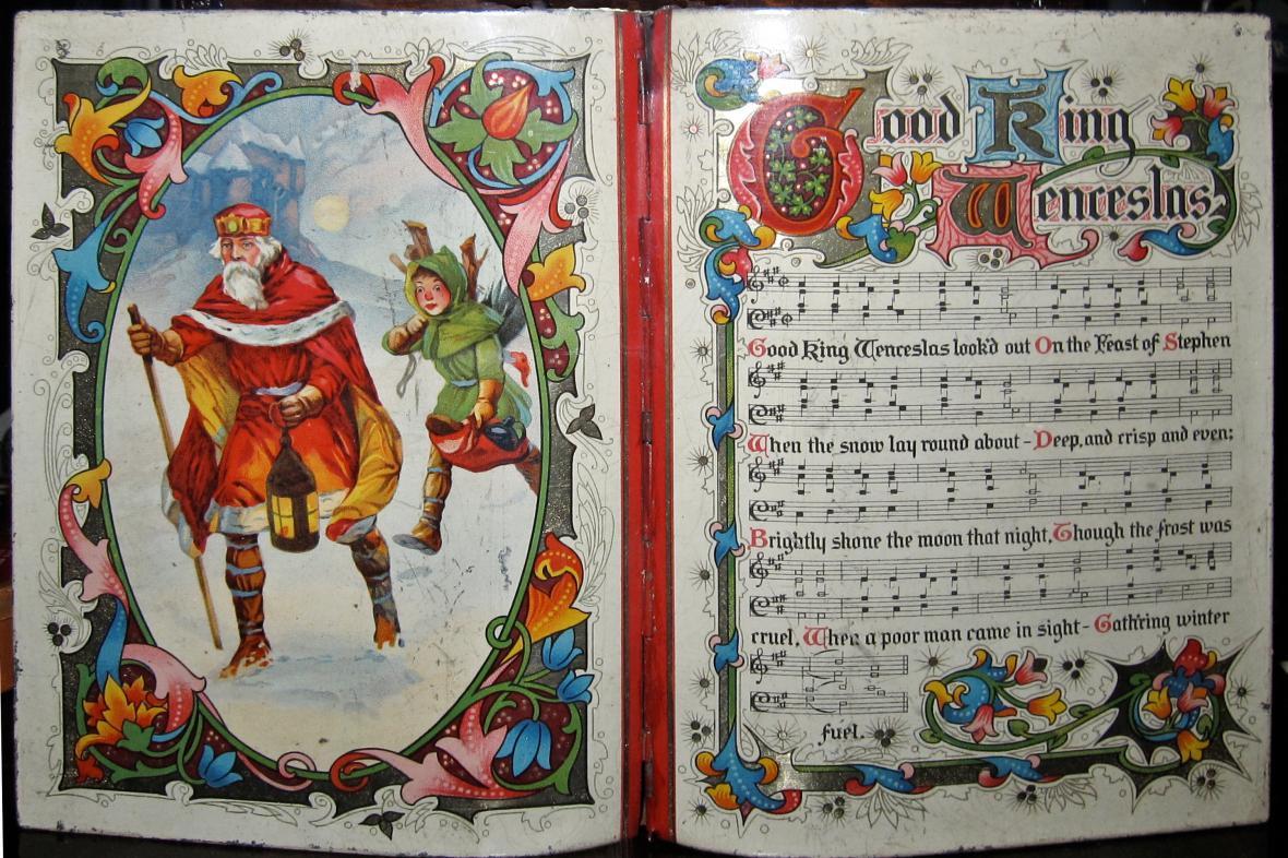 Text písně o dobrém králi Václavovi
