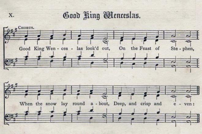 Píseň o dobrém králi Václavovi