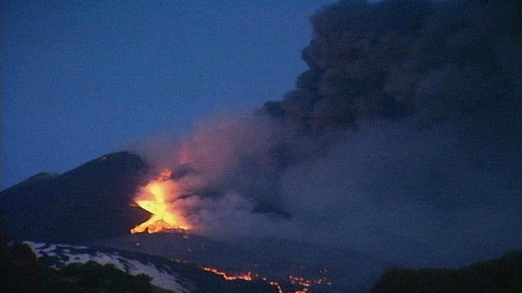 Soptící Etna