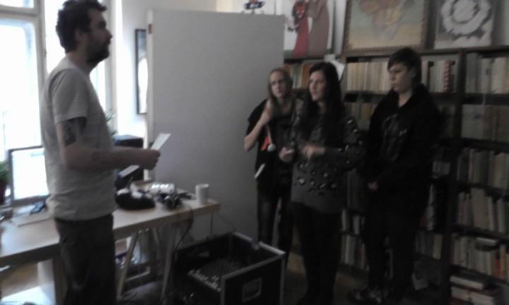 ZŠ Jáchymov na hudebním workshopu v Praze