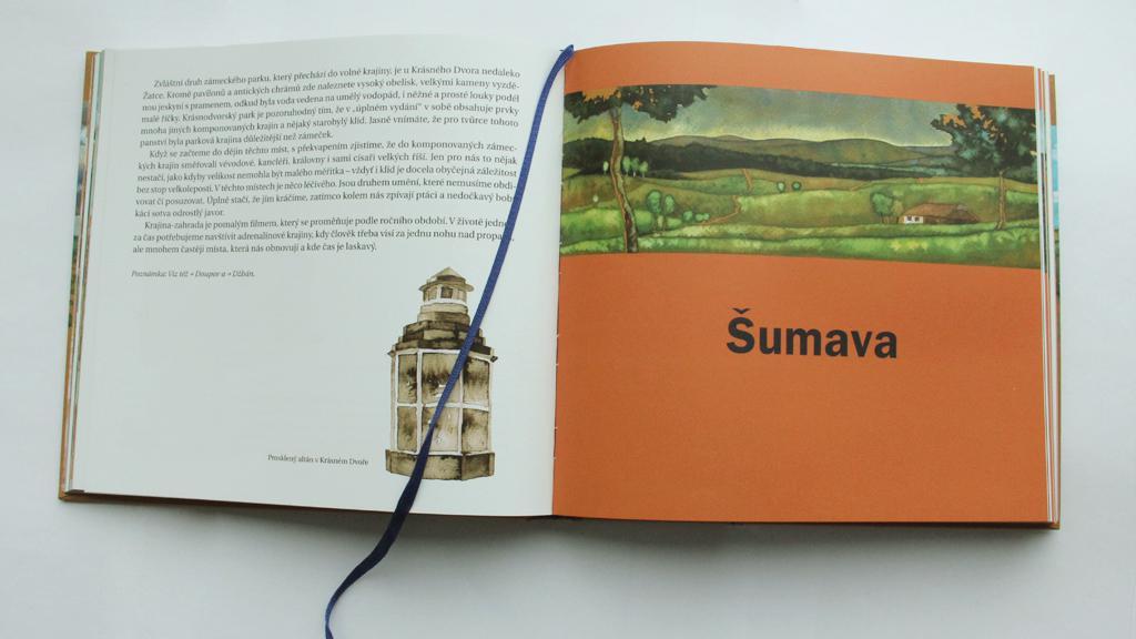 Kniha Václava Cílka Krajiny domova