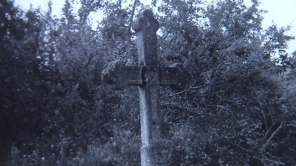 Kříž z obce Velký Vír