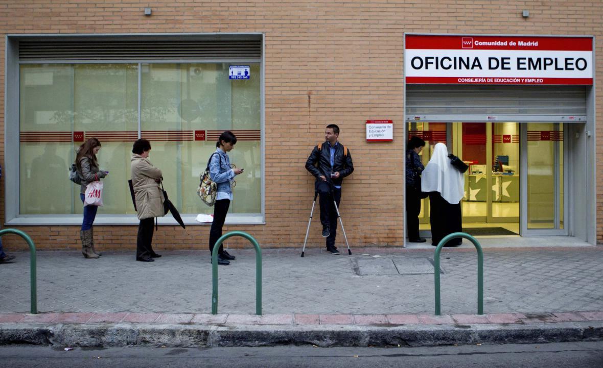 Nezaměstnanost ve Španělsku